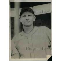 1925 Press Photo Hugh McMullen Catcher Sold To New York Giants MLB Team Player