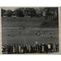 1927 Press Photo Hockey Teams All-Philadelphia Girls And Bryn Mawr Game