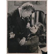 1921 Press Photo Clara Smith Hamon, John Ince in Fate