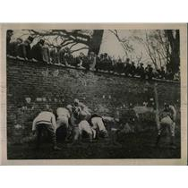 1922 Press Photo Wall & Game During St. Andrews Day At Eton