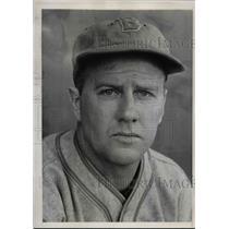 1939 Press Photo Milburn Shoffner, Cincinnati Reds