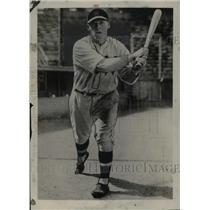 1930 Press Photo Dave Harris of Chicago White Sox