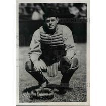 1937 Press Photo Henry Helf, Cleveland Indians