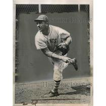 1936 Press Photo Fred Fitzsimmons, pitcher for NY Giants