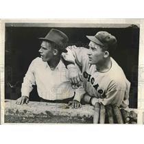 1933 Press Photo Frankie Paikowski Sloysius Szymanski Frankie Parker, Al Simmon