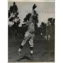 1932 Press Photo Ray Fritz Rookie infeilder Detroit Tigers