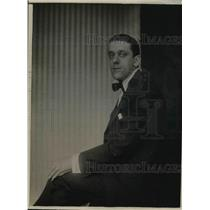 1920 Press Photo John Murray Anderson, Playwright
