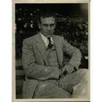 1930 Press Photo Allen Cooke Outfielder New York Yankees