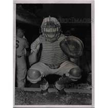 1936 Press Photo Gus Mancuso, New York Giants Catcher