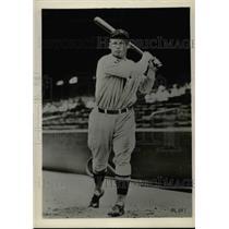 1934 Press Photo Dave Harris, Washington Senators Outfielder