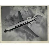 1963 Press Photo Mohawk Al British American Plane
