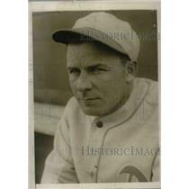 1930 Press Photo Philadelphia Athletics Jimmy Dykes at Ft. Myers Spring Training