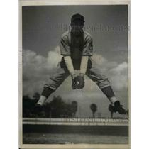 1939 Press Photo Charles Glock, Rookie Infielder Trying Out for Cincinnati Reds