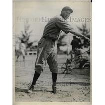 1929 Press Photo Art Delaney Rookie Pitcher Boston Braves