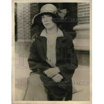 1923 Press Photo Miss Marie Arrex Allowed To Stay In US