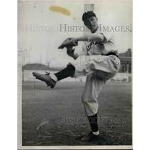 1938 Press Photo Bob Harris Minor League Player For Toledo Mud Hens