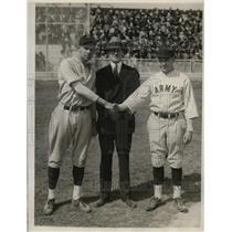 1930 Press Photo Fred Hetzel of Maryland, Senator Millard Tydin, C.E. Beauchamp