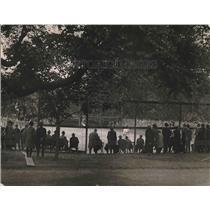 1921 Press Photo White House Tennis Match, Washington, D.C.