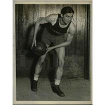 1927 Press Photo Waldo Fisher, Forward for Northwestern
