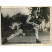 1925 Press Photo Kenneth Boyer, University of Southern California Basketball