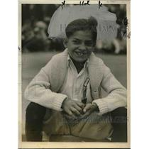 1927 Press Photo Joe Modvidovick at Marble Championships