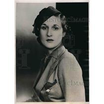 1939 Press Photo Mrs. Frank Christensen former united airlines hostess