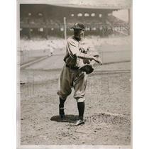 1934 Press Photo Alvin Crowder Pitcher Detroit Tigers Yankees Stadium MLB Player