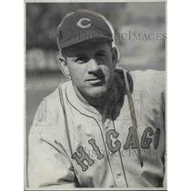 1932 Press Photo Charlie Grimm of the Chicago Cubs