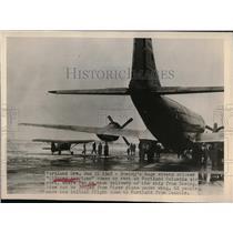 1949 Press Photo Clipper American Pam AM Beoing - nea56683