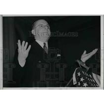 1938 Press Photo Fritz Kunn Leader of Pro Nazi German-American