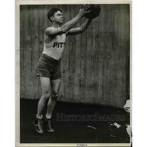 1928 Press Photo Charles Wunderlich, Basketball Team Captain, Pitt