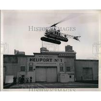 1951 Press Photo Pier 41 Heliported leased to P.A. By City
