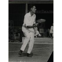 1921 Press Photo Bob Kinsey Playing Tennis