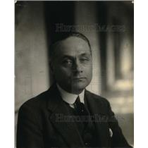 1924 Press Photo Mr Junimeer Van Auch van Wych of Netherland