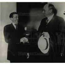 1921 Press Photo Movie Censor Will H. Hays & US Attorney General Homer Cummings