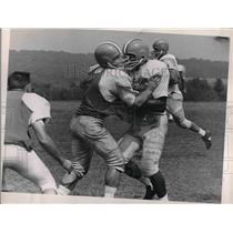 1961 Press Photo Browns of Hiram