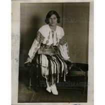 1929 Press Photo Miss Anna Dejan from Rumania
