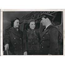 1938 Press Photo Louise Jenkins Bill Walner Airplane Pilot Stewardess
