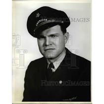 1938 Press Photo Harry Garmon 1st Pilot American Airlines Corp