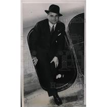 1939 Press Photo Stanley Kluzek 28 Year Old Pilot New York Warsaw Solo Flight