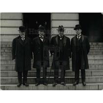 1922 Press Photo Carlos ALdunate, Don Beltran Mathieu of Chile