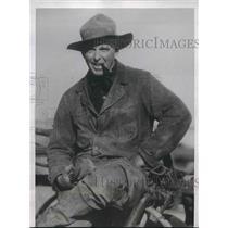 1935 Press Photo Cattle rancher Dan Casement
