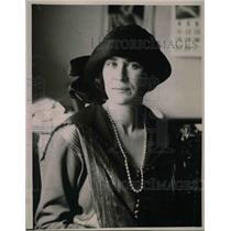 1923 Press Photo Princess Elisabetta Borghese Italy Oakland California