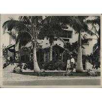 1928 Press Photo Mr. and Mrs. Richard at Home in Miami Beach