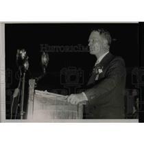 1935 Press Photo John Hamilton of Kansas speaks about economics - nea70669