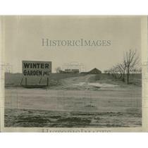 1922 Press Photo The resort Winter Garden