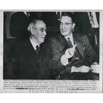1913 Press Photo Charles W Tobey Estes Kefauver Senators Tennessee - nea79836