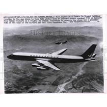 1962 Press Photo DC-8 Panair Brazil jetliner similar to one that crashed 8/20/62