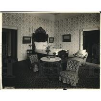 1919 Press Photo a bedroom in the White House, Washington DC