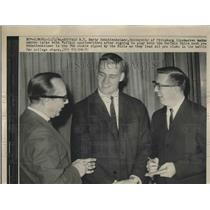 1964 Press Photo University Of Pittsburgh Linebacker Marty Schottenheimer
